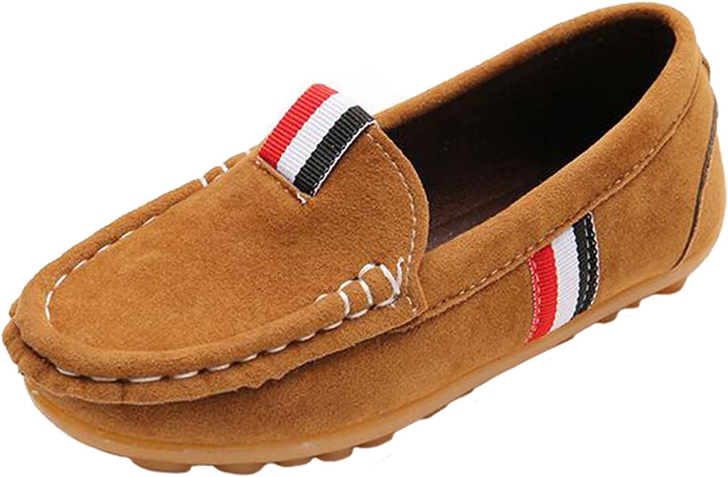 PPXID Toddler Little Girl's Boy's Slip-on Loafers Casual Moccasin Oxford Flat Shoes