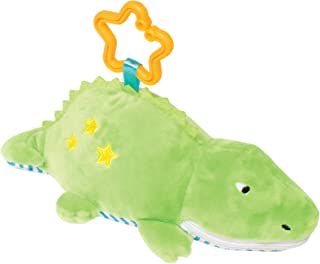 Manhattan Toy Gabby Gator Zip & Play Teether and Travel Baby Toy