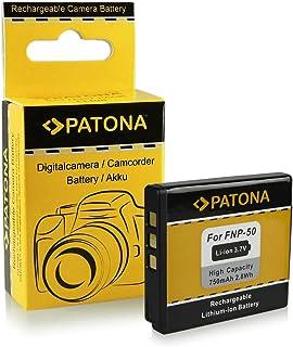 Batteria Fuji NP-50 | Kodak Klic-7004 | Pentax D-Li68 / D-Li122 per Fujifilm FinePix F70EXR | F80EXR | F200EXR | F300EXR |...