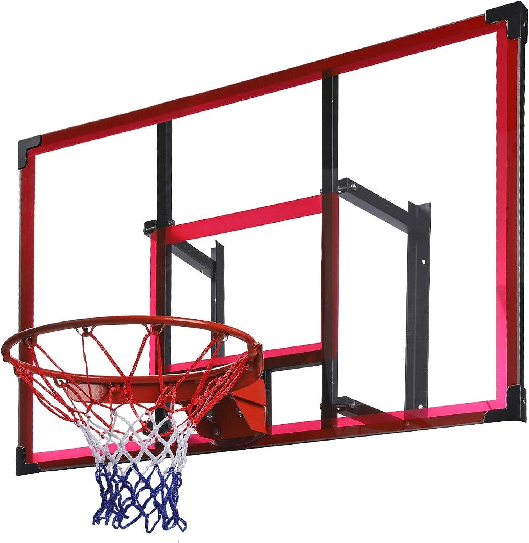 Basketball GoalHoop Ranking TOP10 Wall Mounted Tucson Mall Adjustable-Height H