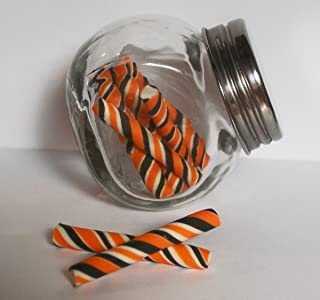 Halloween Black Orange Candy Sticks Jar Playset for 14 inch and 18 Inch dolls American Girl, Journey Girls, Our Generation, Madame Alexander, Wellie Wishers, Hearts for Hearts, Glitter Girls Dolls