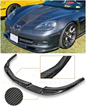 c6 carbon fiber splitter