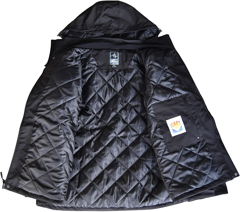 Pulse Mens Big Sizes Insulated Soft Shell Jacket Siberian II
