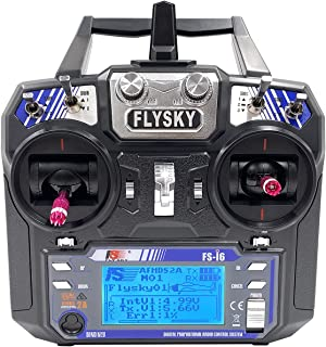 Flysky FS-i6 6CH 2.4GHz Radio System RC Transmitter Controller with FS-iA6 Receiver for RC Helicopter Plane Quadcopter Gli...