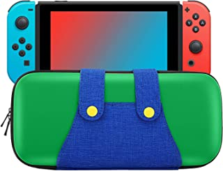 MoKo Carrying Case Compatible with Nintendo Switch/Switch OLED Model (2021), Portable Protective Hard Shell Cover Travel C...