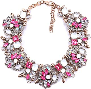 Best pink statement necklaces Reviews