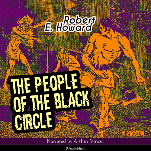 The People of the Black Circle audiobook cover art