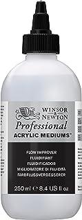 Winsor & Newton Professional Acrylic Medium Flow Improver, 250ml (Packaging May Vary)