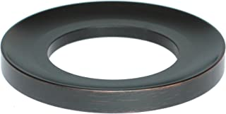 MYHB MLAN1701H Lead Free Solid Brass Bathroom Vessel Sink Mounting Ring, Black Oil Rubbed Bronze