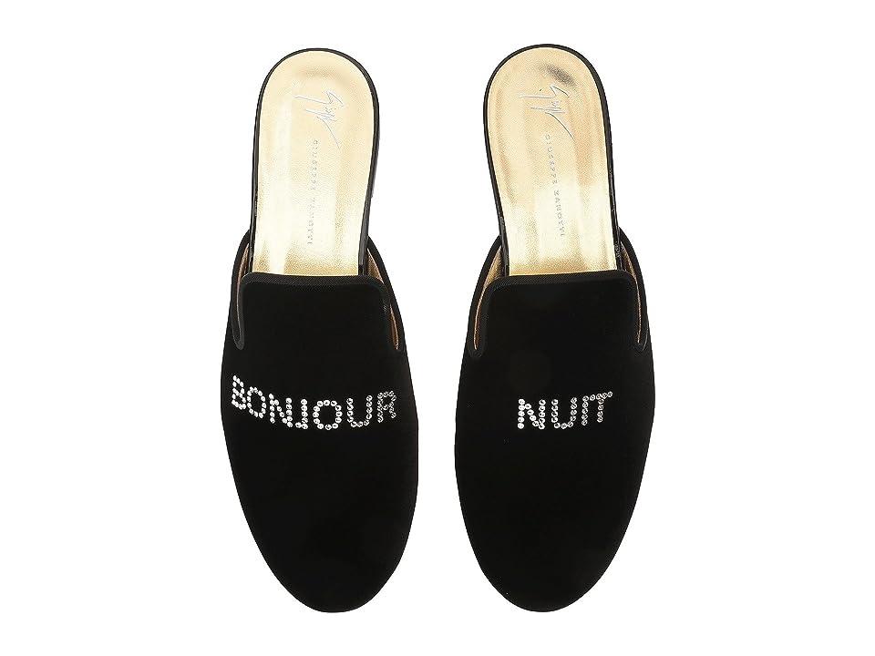 Giuseppe Zanotti Kevin Bonjour/Nuit Slide (Black) Men