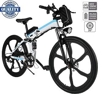 """Hiriyt 26"""" Bicicleta eléctrica de montaña, 250W,"""