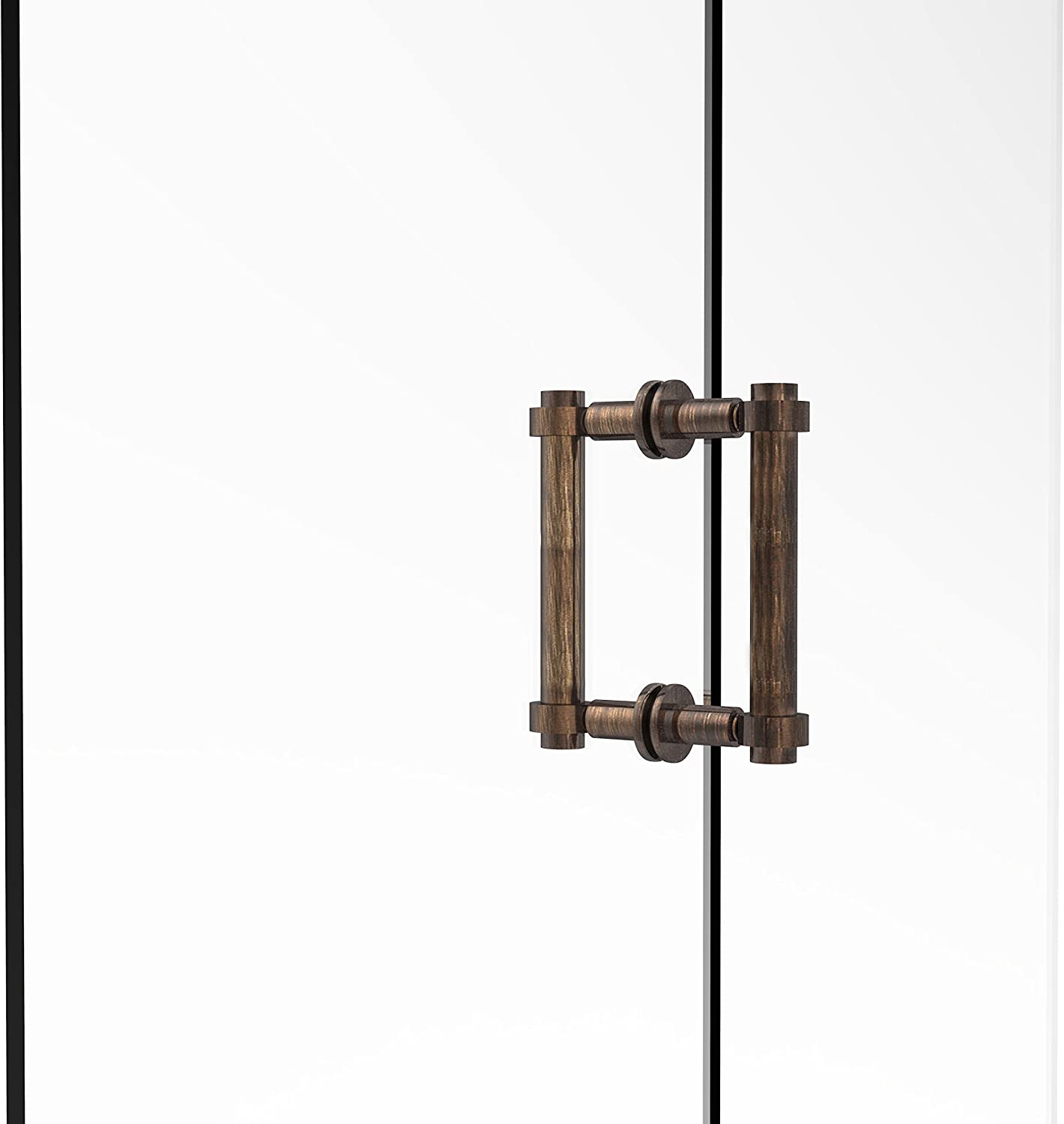 Allied Brass 404-6BB-VB Contemporary 6  Back To Back Shower Door Pull,
