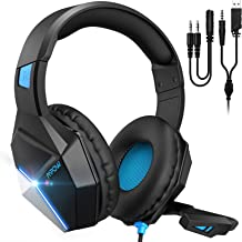 Best Mpow EG10 Gaming Headset for PS4,PS5,PC,Xbox One,Switch -7.1 Surround Sound Headset with Microphone,Noise Cancelling,LED Light,Soft Earmuffs,Gaming Headphone with Microphone for PC Headset Review