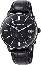 Thomas Earnshaw Men's Vancouver 44mm Black Leather Band IP Steel Case Automatic Analog Watch ES-8075-05