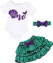 AmzBarley Little Girls Princess Swimming Costume Outfit Dress Kids Swimsuits