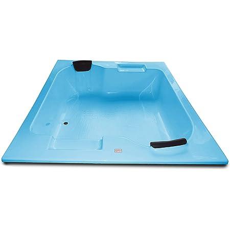MADONNA Innovation Acrylic 6 feet Big Bath Tub - Cyan Blue