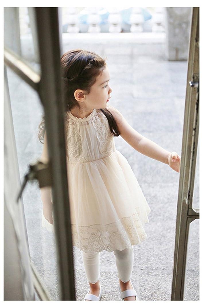 ヒギンズ忠実徹底的にWIN 子供たちは子供たちが子供たちのレースのドレスの子供たちがレースピアノリサイタルの子どもたちが七五三は子供たちが正式な女の子の女の子をドレス結婚式発表会ドレスドレスドレスのドレスジュニアゲーム会普段着(140センチメートル、ホワイト) 140 ホワイト