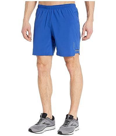 Brooks Sherpa 7 2-in-1 Shorts (Cobalt/Cobalt/Academy) Men