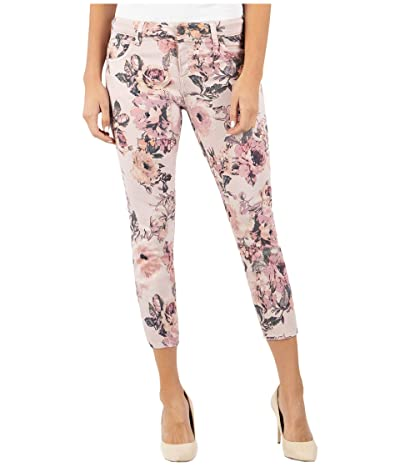 KUT from the Kloth Connie Crop Skinny in Rose (Rose) Women