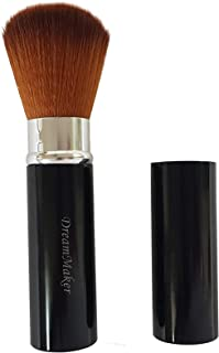 Dream Maker Retractable Face Powder Blush Brush (Black)