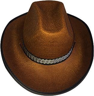 87ef2cc421 Dress up America Sombrero marrón Vaquero Adulto