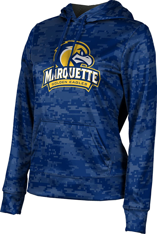 ProSphere Marquette University Girls' Pullover Hoodie, School Spirit Sweatshirt (Digital)