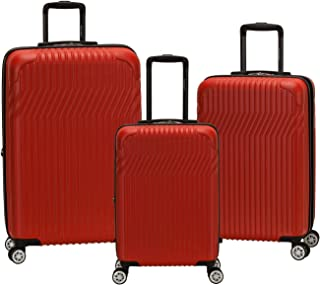 Rockland Pista Hardside Spinner Wheel Luggage Set
