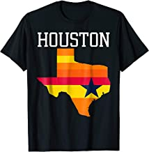 Vintage Retro Houston Texas Tshirt