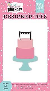 Echo Park Paper Bedrijf, Verjaardag Cake Die Set
