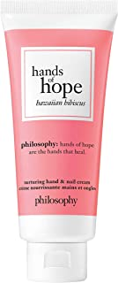 philosophy hands of hope hand and nail cream, hawaiian hibiscus, 1 oz