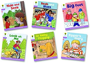 Oxford Reading Tree Biff, Chip and Kipper Level 1+: First Sentences A: Mixed Pack of 6