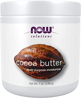 Now Solutions Cocoa Butter 100% Pure, 207 ml