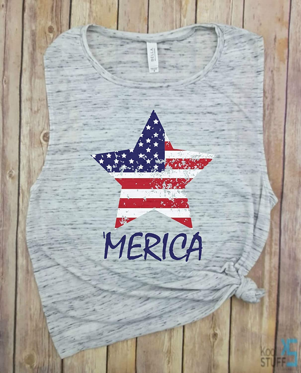 Star flag Merica - Stars and Stripes Tee of Factory outlet July Tank Wom 4th Alternative dealer