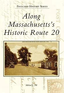Along Massachusetts's Historic Route 20 (Postcard History)