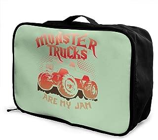 monster jam luggage