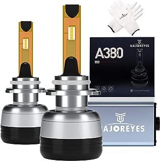 MAJOREYES 9005(HB3) LED Headlight Bulbs,CREE Chips-(60W-10000LM-6000K) Conversion Kit,2 Years Warranty