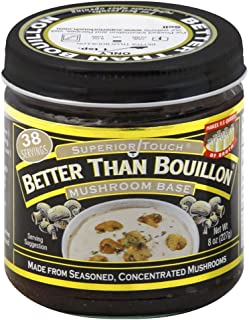 Better Than Bouillon Mushroom Base -- 8 oz - 2 pc