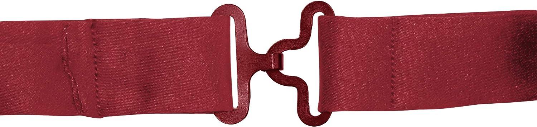 Bow Tie for Boys Bowtie Men Bow Tie for Men Satin Pre-Tied Silk Look Clip on Bow Tie Adjustable Black Bow Tie BURLET Bow Tie Black Tie for Men
