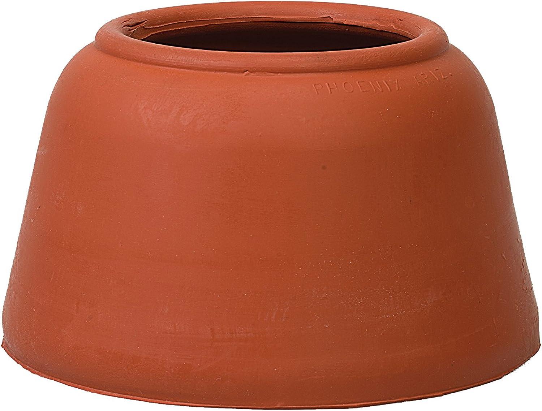 HorseCraft PullOn Bell Boots, Red, Medium
