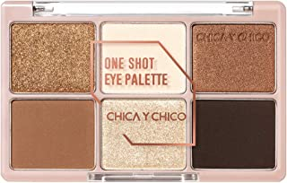 [CHICA Y CHICO] One shot eye palette series, mat, shimmer, glitter, vivid pigmentation, soft texture, long lasting, 9g (daybrown)