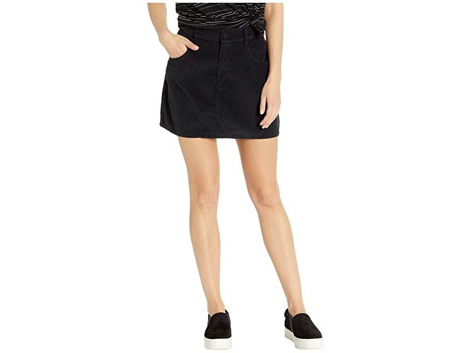 Roxy Java To Lombok Corduroy Skirt (True Black) Women