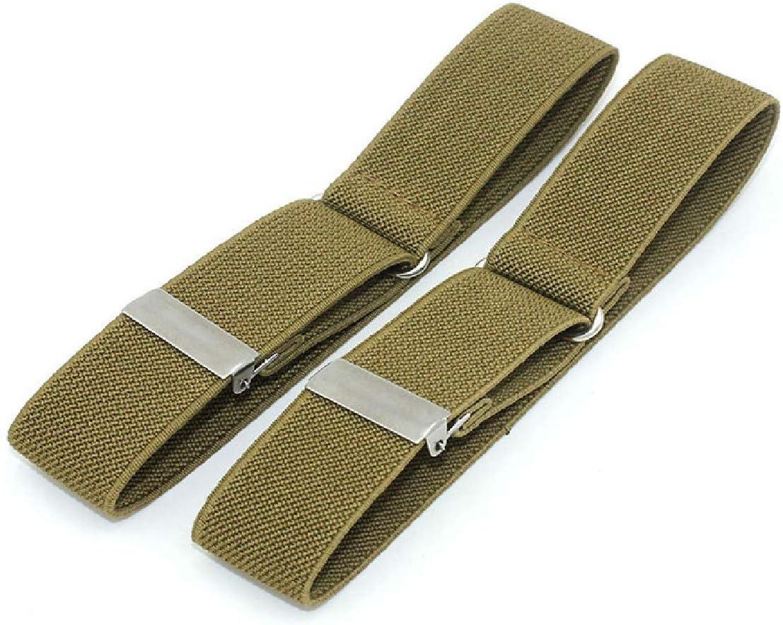 "Cyprinus Carpio Anti-Slip Adjustable Armband Shirt Garter Sleeve Holders, Adjusting:1""-12.6"" Pack of 2 (3/4"" W12 1/2""(L) Black) : Sports & Outdoors"