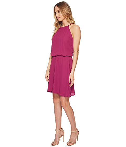 Cheap Price From UK Roper 1621 Polyester Crepe Skater Dress Wine Outlet Original H8Lm6yh5H