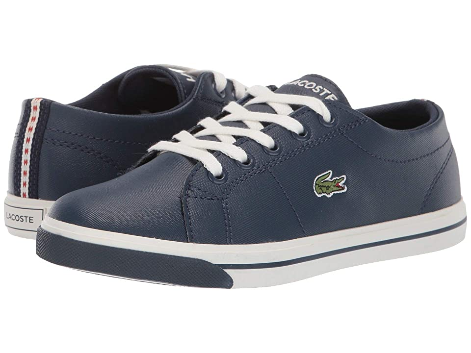 Lacoste Kids Riberac 119 2 CUC (Little Kid) (Navy/Off-White) Kid