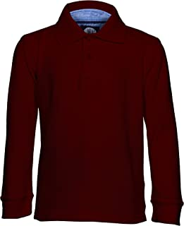 maroon school uniform shirts