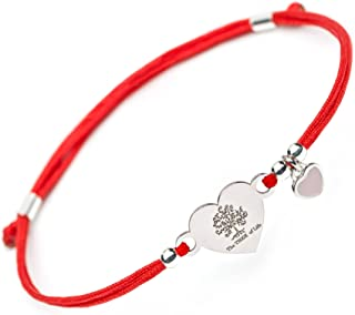 SOLOMIYA Family Love Jewelry Bracelet - 925 Sterling Silver Tree Charm - Evil Eye Protection Bracelets for Women Mom Sister Men