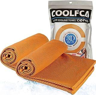 クールタオル 冷却タオル 瞬間冷感 ひんやりタオル 速乾 超吸水 軽量 防菌防臭 UVカット 熱中症対策 梅雨対策 100×30cm