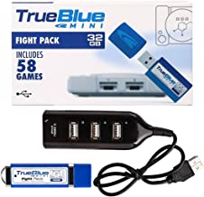 True Blue Mini Fight Pack 58 Games for Playstation Classic, 32 GB (Fight Pack)