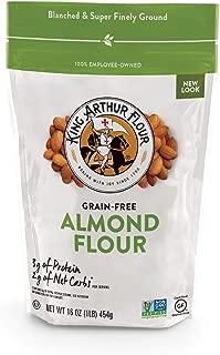 King Arthur Flour, Almond Flour, Gluten Free Certified, Non Gmo Verified, Finely Ground, 16 Oz, 4Count