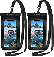 Syncwire Waterproof Phone Pouch [2-Pack] - Universal IPX8 Cell Phone Waterproof Case Dry Bag Protector with Lanyard for Ta...